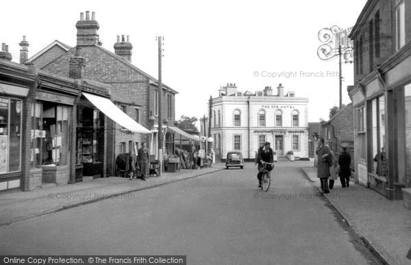 Photo of Hockley, the Spa Hotel c1955, ref. h176002