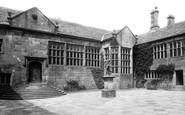Hoghton, The Tower Courtyard  1895