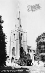 Holbeach, All Saints Church c.1955