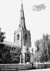 Holbeach, All Saints Church c.1960