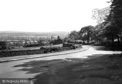 Holcombe Brook, From Lumb Curr Road c.1950, Holcombe
