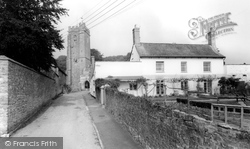 Holcombe Rogus, All Saints Church And Vicarage c.1960