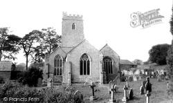 Holcombe Rogus, All Saints Church c.1960
