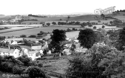 Holcombe Rogus, Village From Church Tower c.1960