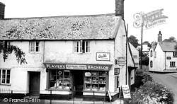 Holcombe Rogus, Waterloo Stores c.1955