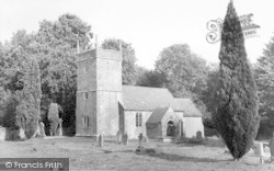 Holcombe, The Old Church c.1960
