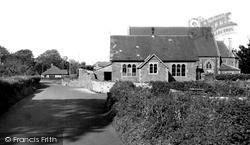 Holcombe, The School c.1955