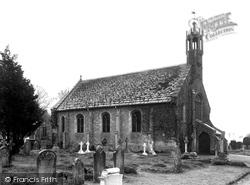 Church Of St John The Evangelist c.1945, Holdenhurst