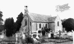 Church Of St John The Evangelist c.1965, Holdenhurst