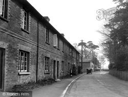 Holdenhurst, The Barracks And School c.1945
