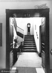Alfoxton Park, Entrance Hall And Landing c.1950, Holford