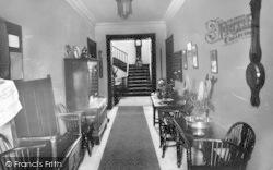 Alfoxton Park, Entrance Hall c.1950, Holford