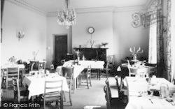 Alfoxton Park, The Dining Room c.1950, Holford