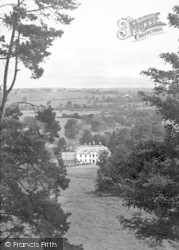 Alfoxton Park, View From Deer Park c.1955, Holford