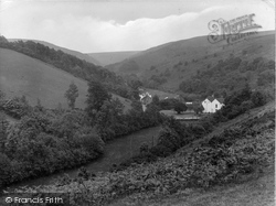 Butterfly Combe, The Quantocks 1929, Holford