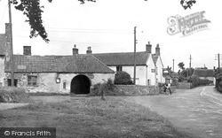 The Plough Inn And Smithy c.1950, Holford