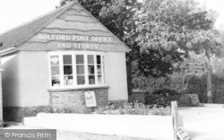 Holford, The Post Office c.1960