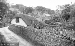 Holford, The Village c.1950