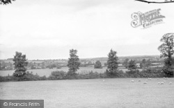Holford, View From Minehead Road c.1955