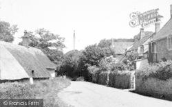 Holford, Village c.1960