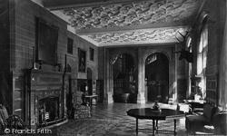 Holker Hall, The Hall c.1875