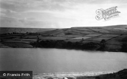 Digley Reservoir c.1948, Holmbridge