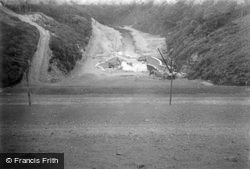 Digley Reservoir Under Construction c.1948, Holmbridge