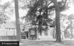 Beatrice Webb House From The West c.1955, Holmbury St Mary