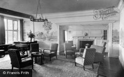 Beatrice Webb House, South Lounge c.1955, Holmbury St Mary