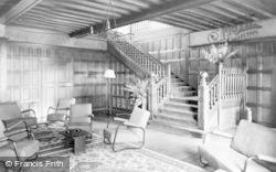 Beatrice Webb House, The Entrance Hall c.1955, Holmbury St Mary