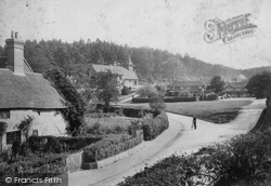 Church And Green 1906, Holmbury St Mary