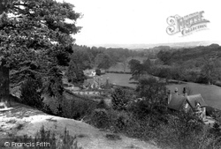 Holmbury St Mary, From The Downs 1909