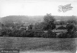 Holmbury Hill From Upfolds 1909, Holmbury St Mary