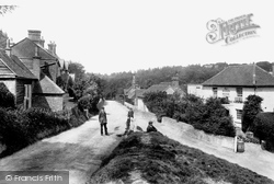 Pitland Street 1906, Holmbury St Mary