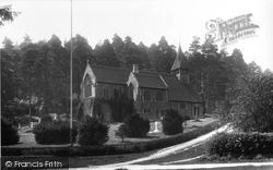 St Mary The Virgin Church 1902, Holmbury St Mary