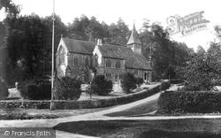 Holmbury St Mary, St Mary The Virgin Church 1909