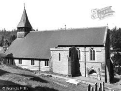 St Mary The Virgin Church c.1955, Holmbury St Mary