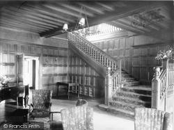 The Entrance Hall, Beatrice Webb House c.1960, Holmbury St Mary