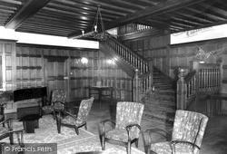 The Hall, Beatrice Webb House c.1960, Holmbury St Mary