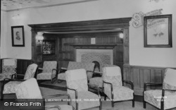 Webb Room, Beatrice Webb House c.1960, Holmbury St Mary