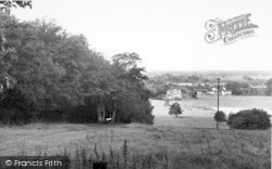 Holme-on-Spalding-Moor, Church Hill View c.1960