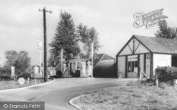 Holme-on-Spalding-Moor, Hill Garage c.1965