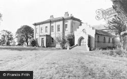 Holme-on-Spalding-Moor, Holme Hall Convent, The Chapel And Guest House c.1955