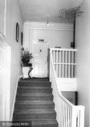 Holme Hall, The Green Landing c.1965, Holme-on-Spalding-Moor