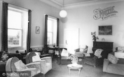 Holme Hall, The Lounge c.1965, Holme-on-Spalding-Moor
