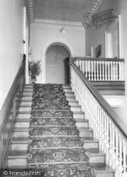 Holme-on-Spalding-Moor, Holme Hall, The Main Staircase c.1965