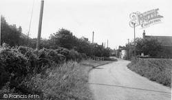 Holme-on-Spalding-Moor, Old Road c.1960