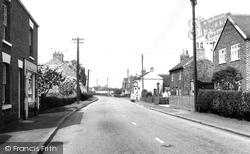 Selby Road c.1960, Holme-on-Spalding-Moor