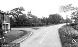 Holme-on-Spalding-Moor, Station Corner c.1955