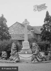 Holme, War Memorial c.1955